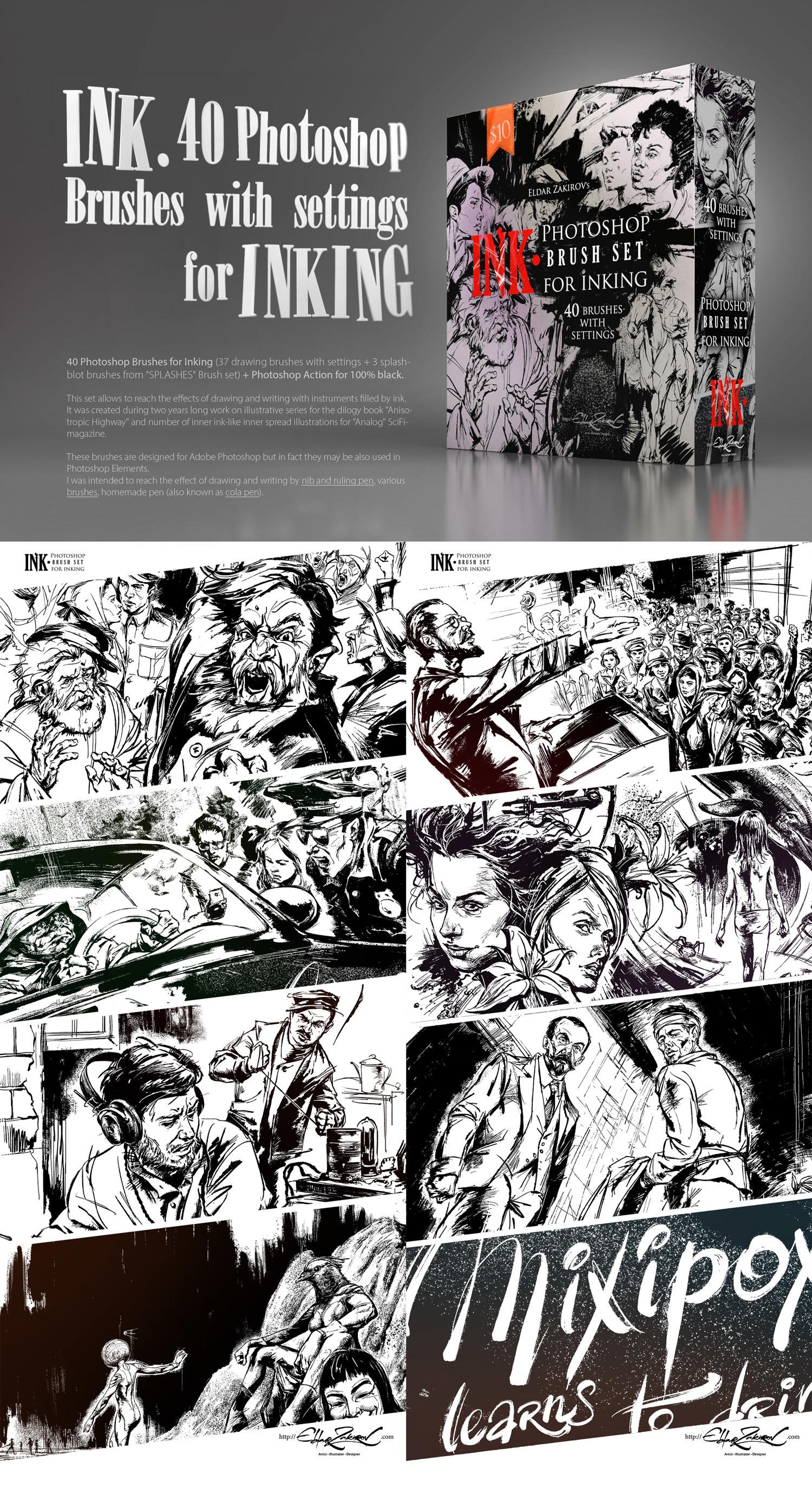Artist's Brushes • - The Art of Eldar Zakirov