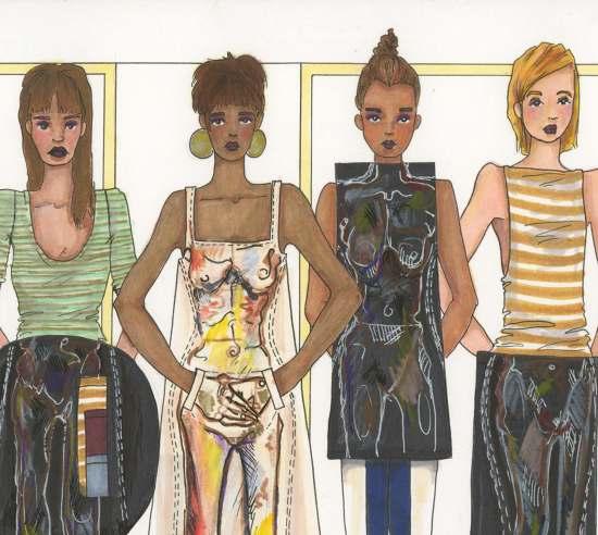 Fashion Design Fine Art Fashion Portfolio 2012 Meo C 28