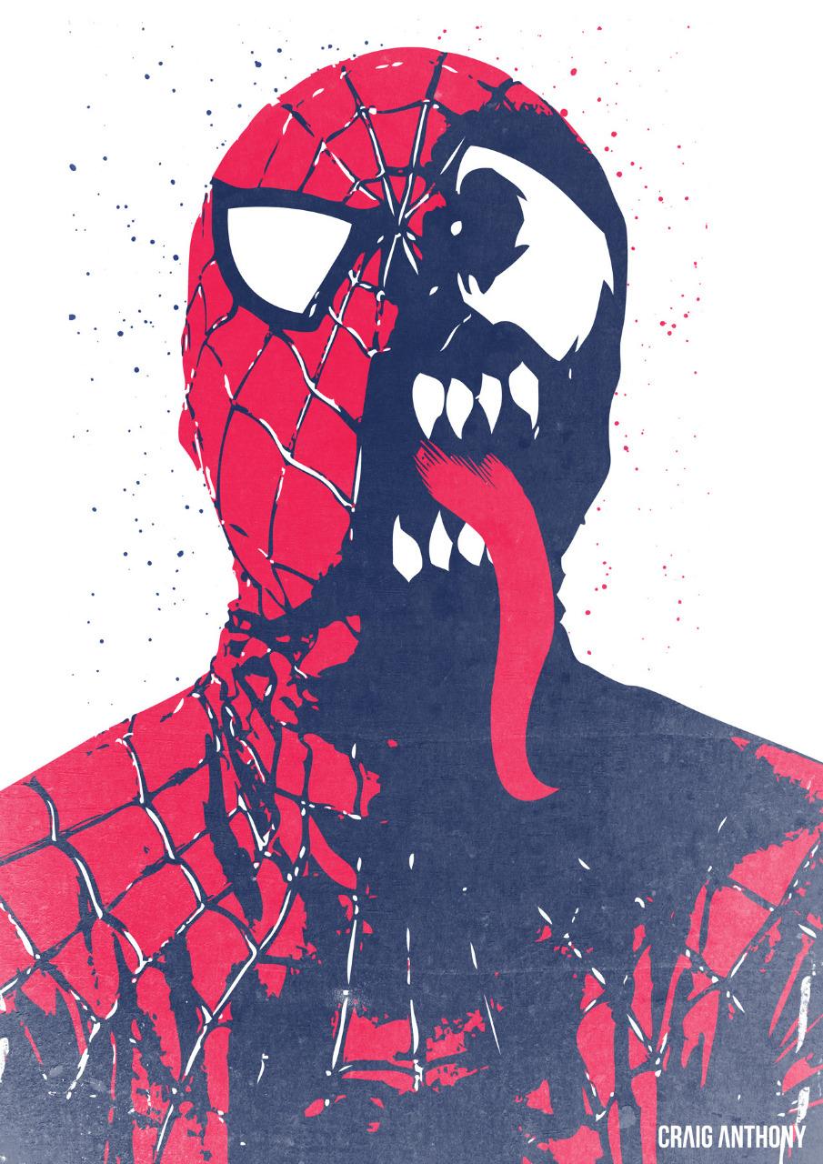 Spiderman Vs Venom Craig Anthony Portfolio