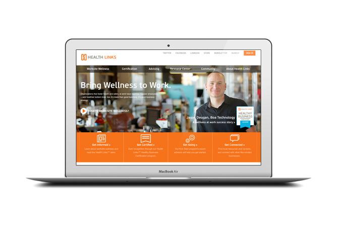 Health Links | Identity + Website - Abby E  Wilson: Denver