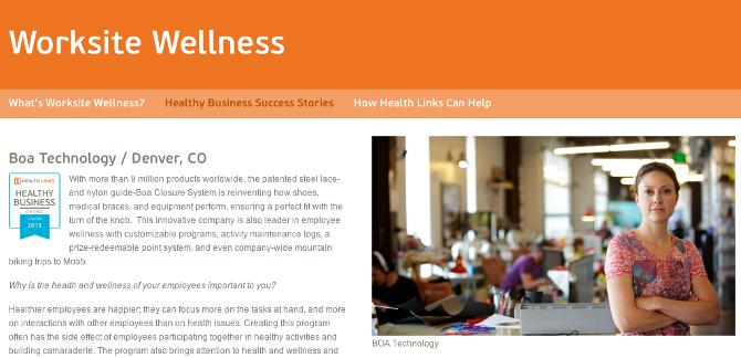Health Links | Identity + Website - abbyelisecreative com - Personal
