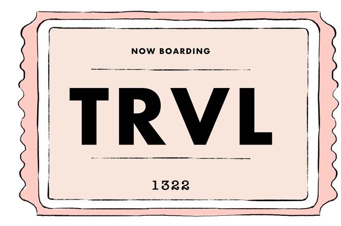 Travel Ticket Caitlin Watson