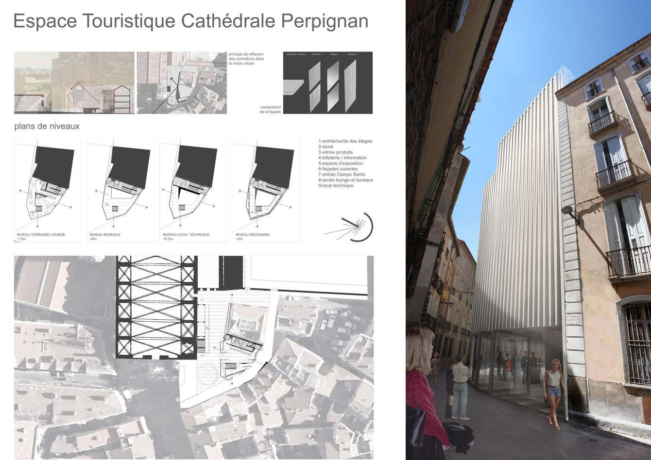 Design D Espace Toulouse espace cathédrale - adrienne costa