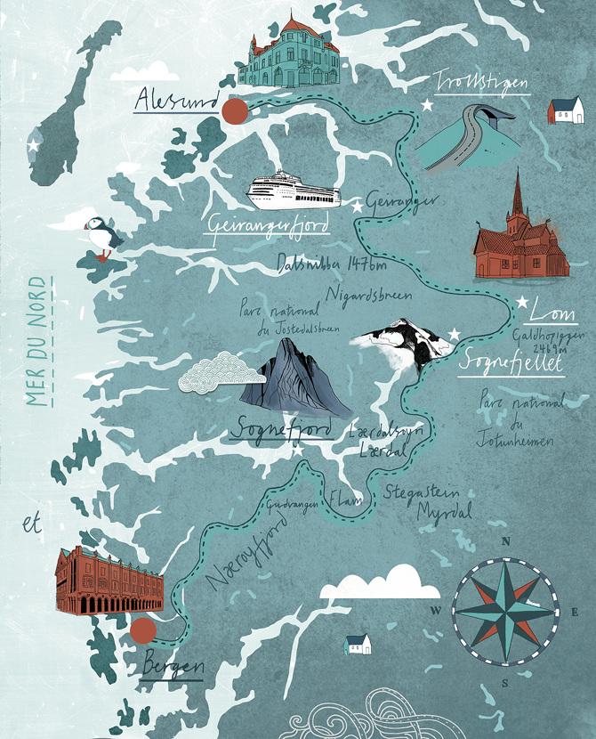 Norwegian Fjords Version Femina Tonwen Jones