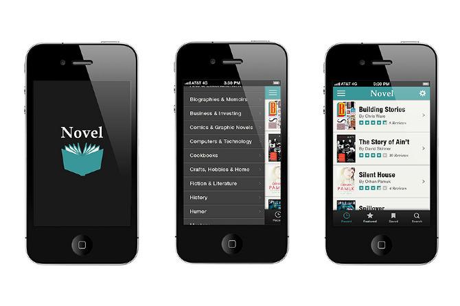 Novel: App Design - Jackie Littman :: Design Portfolio