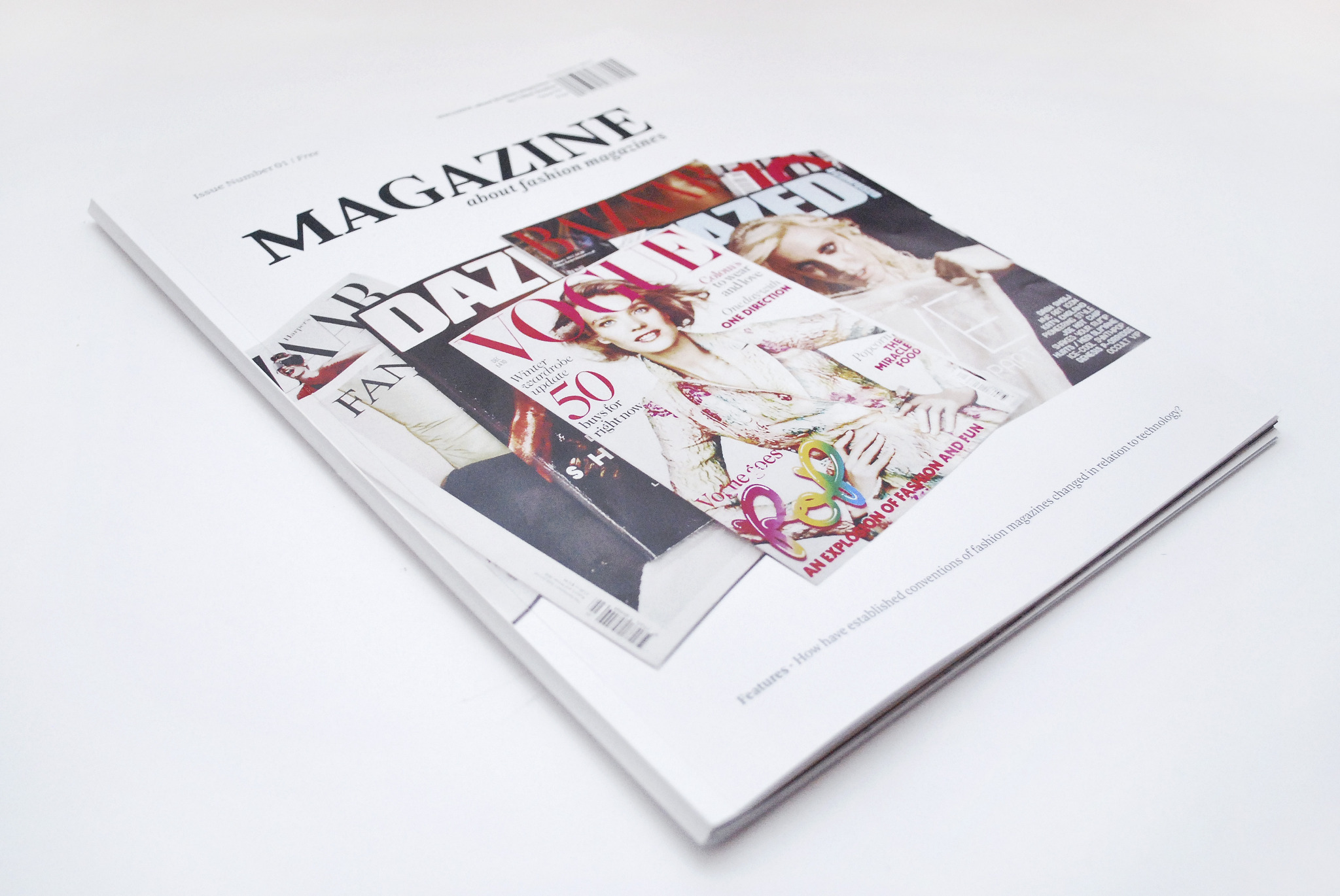 Magazine About Fashion Magazines Chloe Boulos