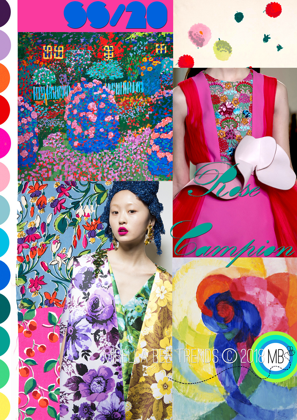 Survivalist AW20 Mirella Bruno Print Pattern and Trend Designs