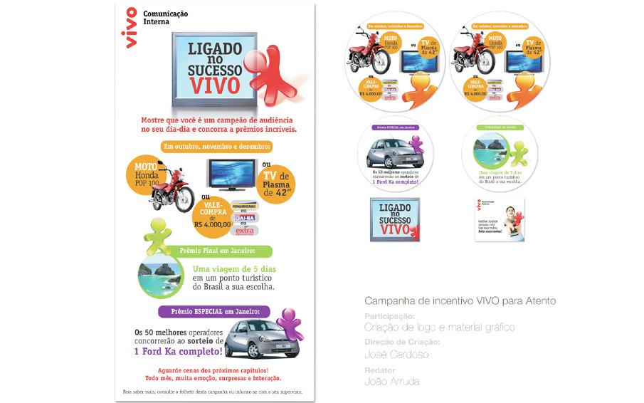 Campanha De Incentivo Vivo Portifolio