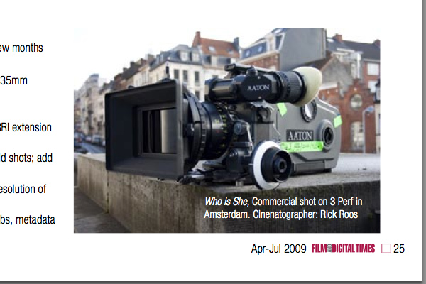 It Looks Like AATON Also Took Its Loss Shifting Focus To Successful Cantar Audio Recorders Still The Penelope Camera Is A Wonderful Apparatus And