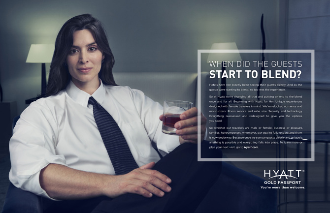 Hyatt Women Dan Cohen Ads