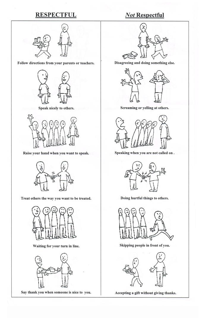 Behavior Worksheets - Stieg Art