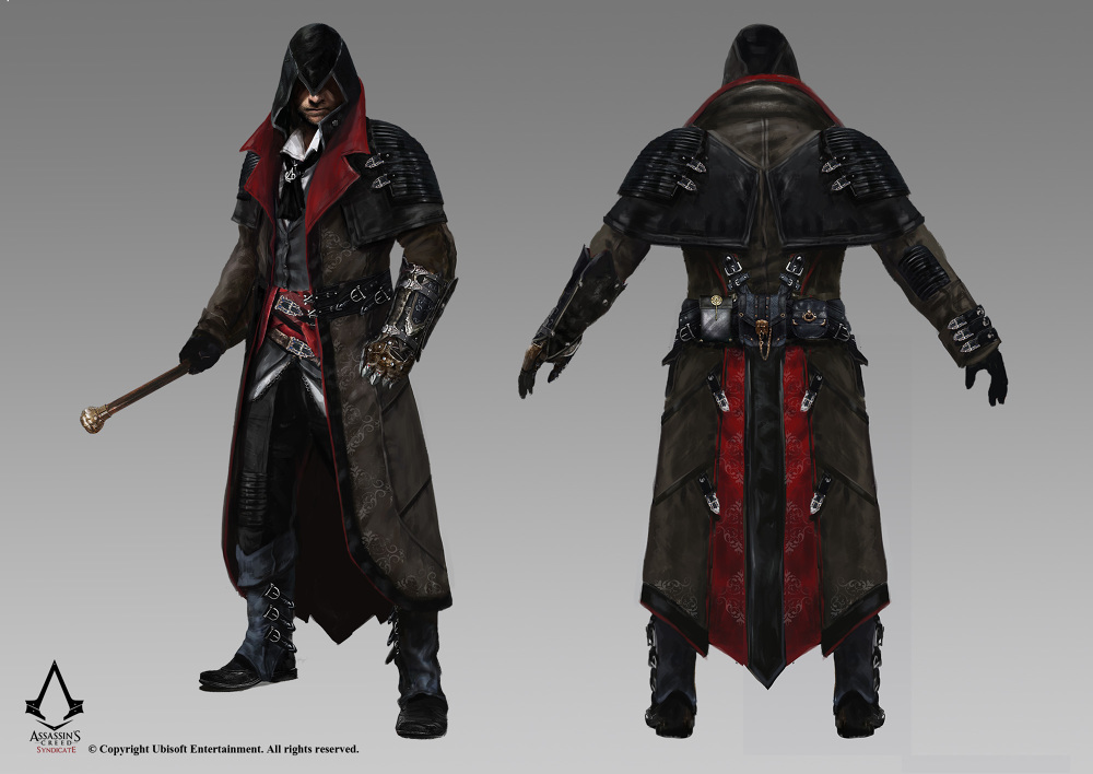 Assassins Creed Syndicate Ubisoft Fred Rambaud Concept Art