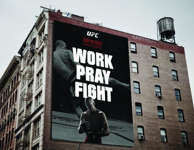 UFC - Work. Pray. Figh...