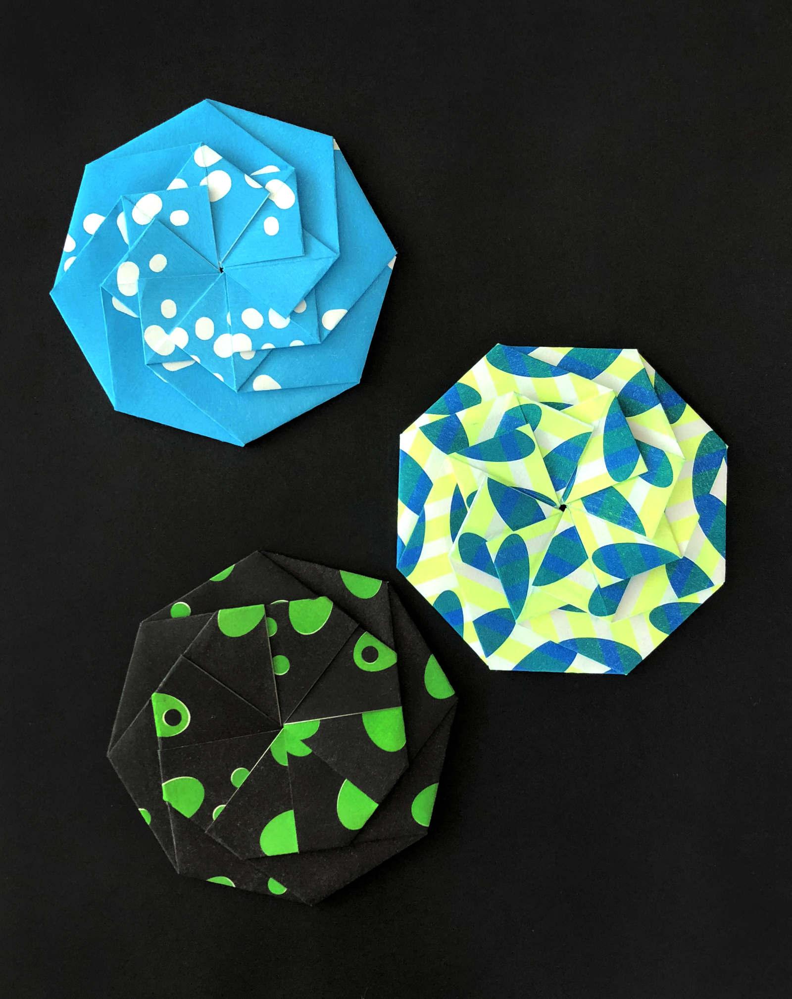 Origami Blue - 11½