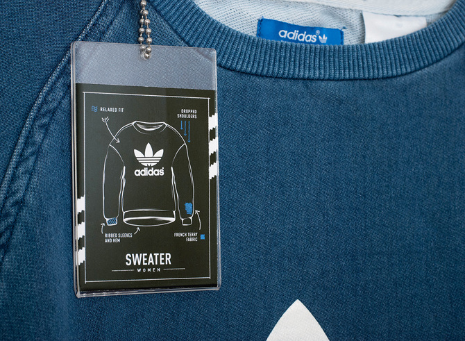 56c1c72bc2a3a2 Development of the global adidas Originals denim visual identity. Agency   The Bakery