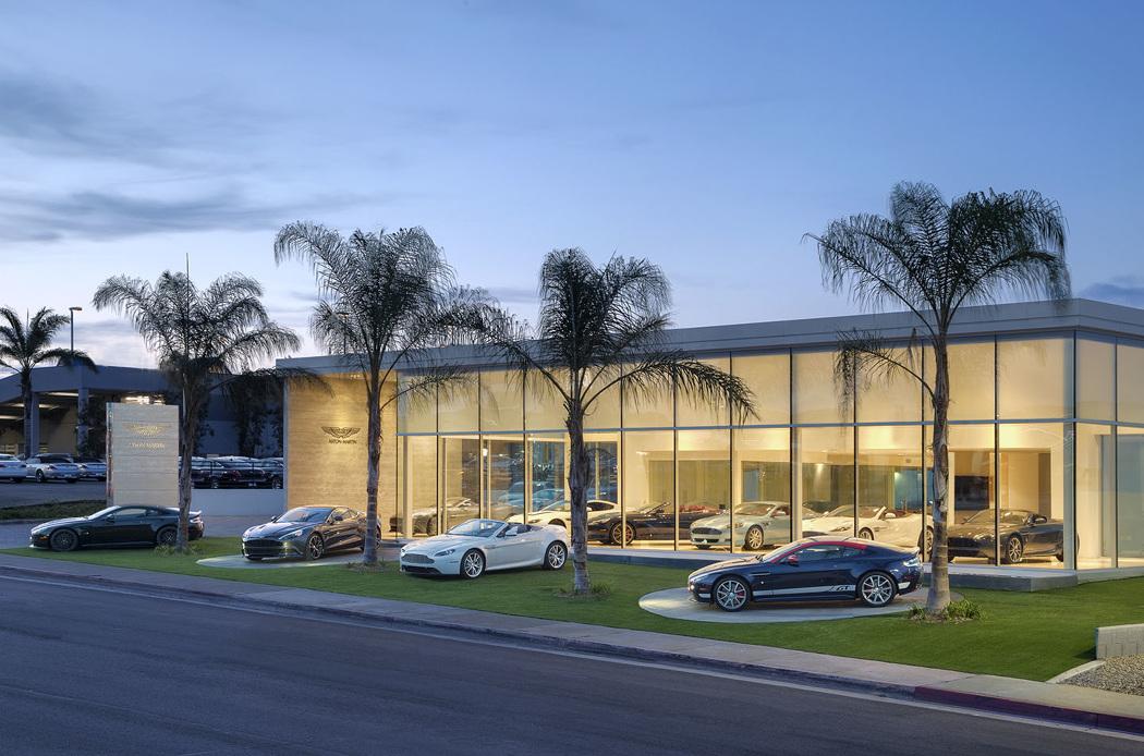 Aston Martin San Diego David Blank Photo