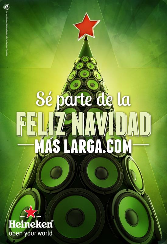 Heineken Feliz Navidad.The Longest Feliz Navidad Song Moxstudios Personal