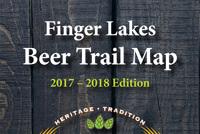 NY Finger Lakes Beer Trail Map - Marie Gilbert Design on