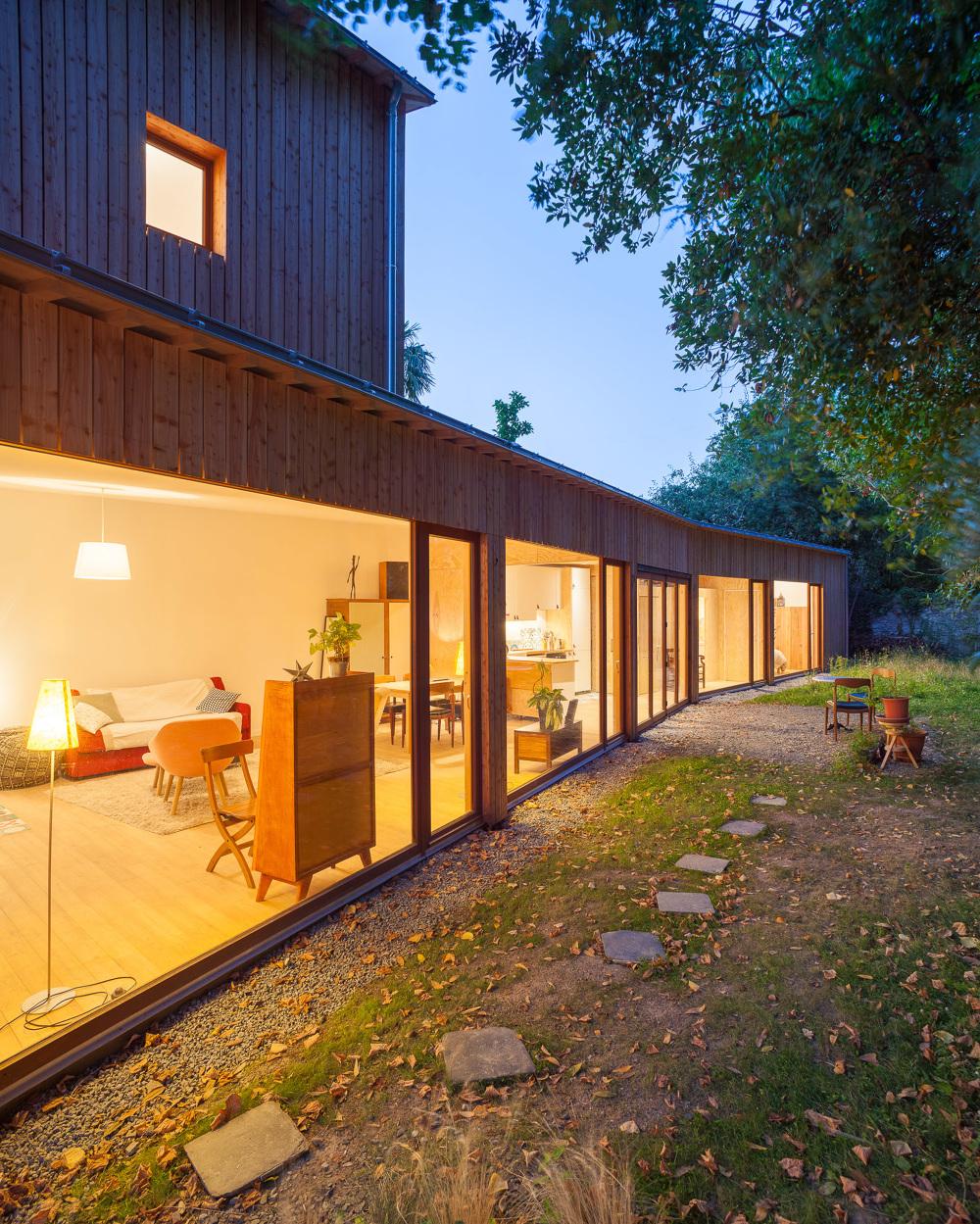 maison hm agence mfa nantes 44 fran ois dantart photographe d 39 architecture. Black Bedroom Furniture Sets. Home Design Ideas