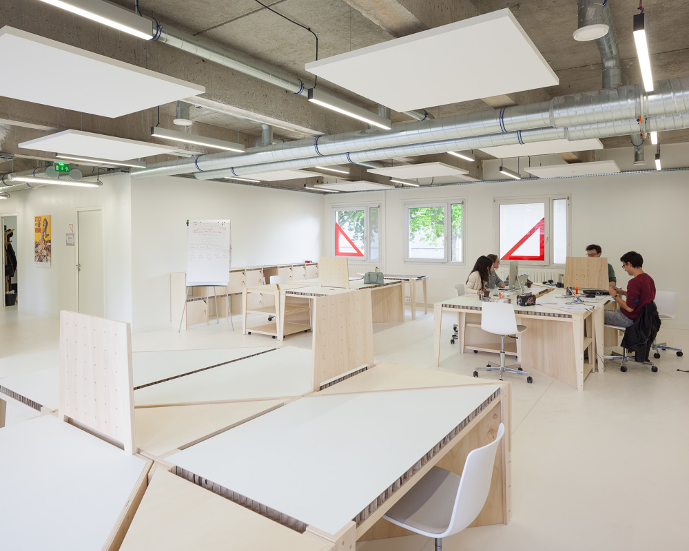 La centrale bureaux partagés eric drodelot bigre architectes