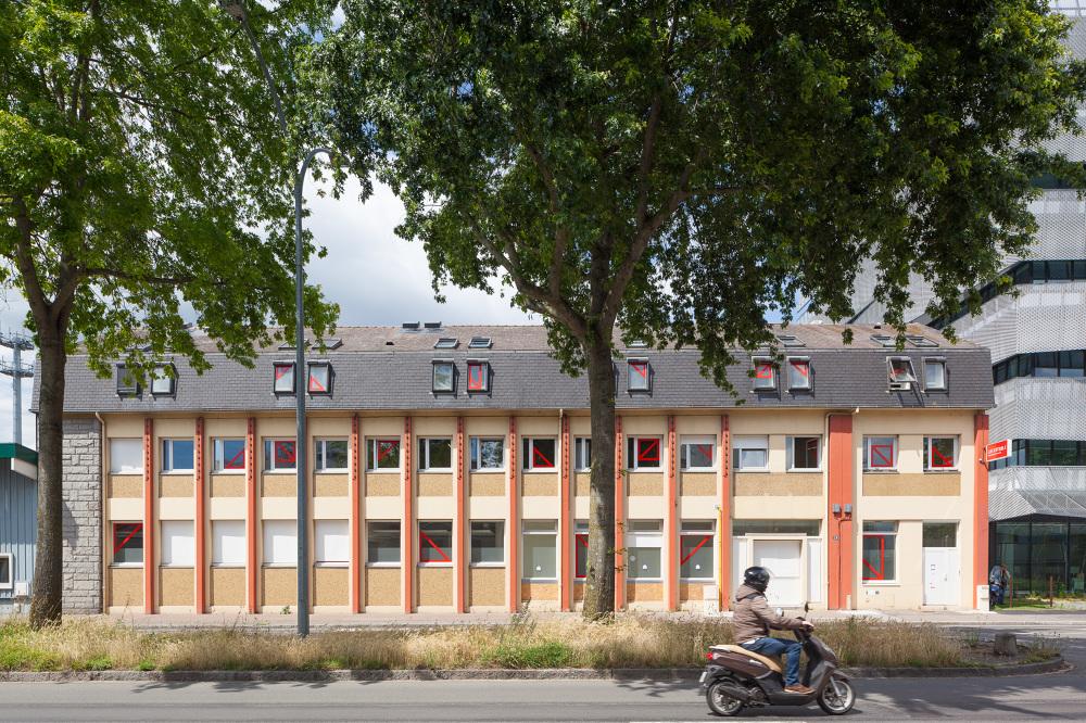 Bureaux Partagés Nantes : La centrale bureaux partagés eric drodelot bigre architectes