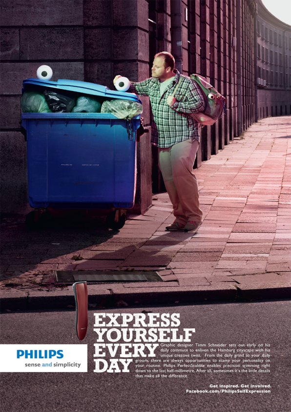 Vw Clean Diesel >> Philips - Express Yourself Everyday - tom chancellor