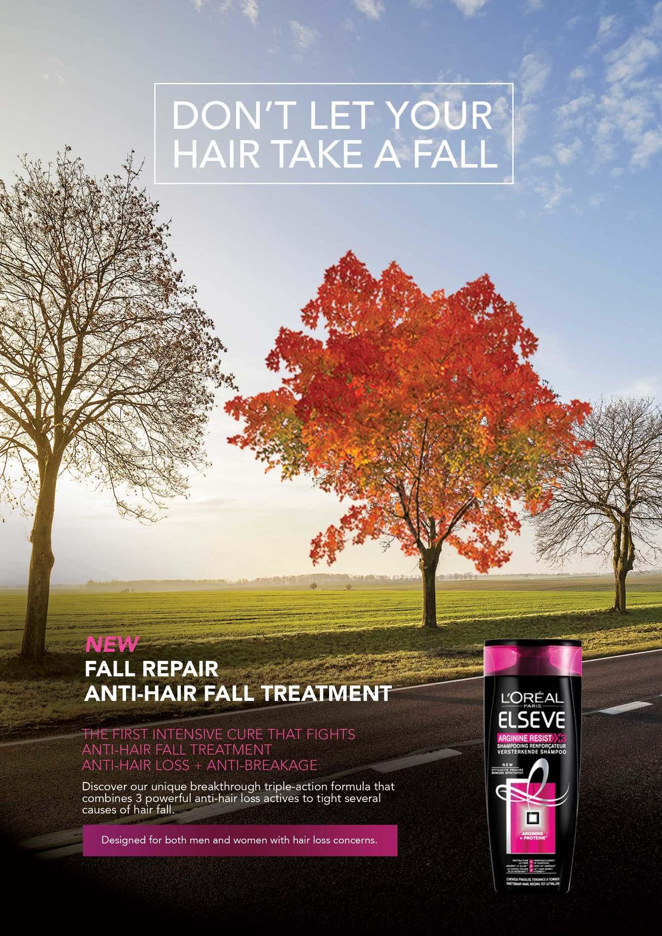 L'Oréal Anti Hair Fall - Willo - Creative
