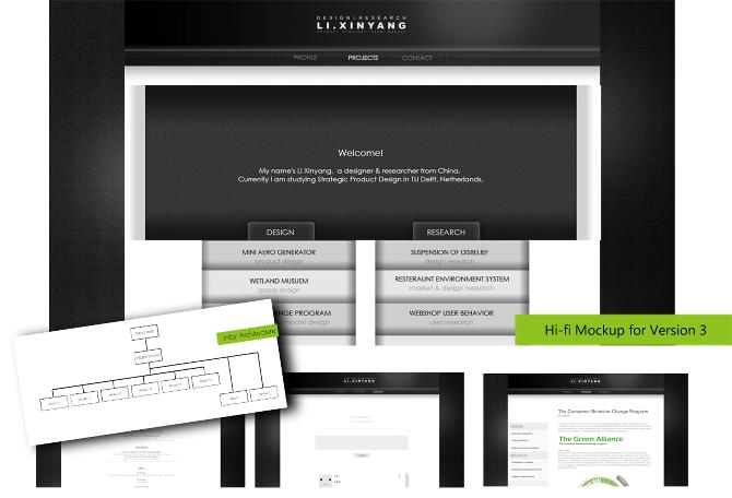 Personal Website - LI XINYANG