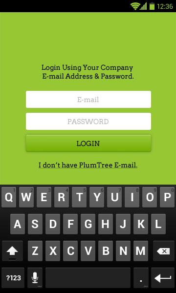 On-Board Android App UI - 21pixel Design Studio
