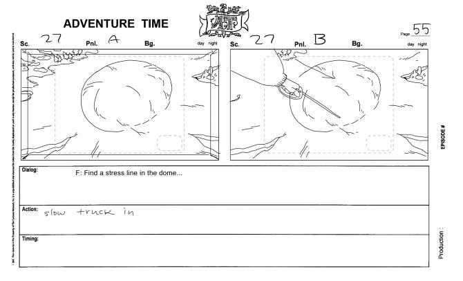 Adventure Time Storyboards - LauraKnetzger