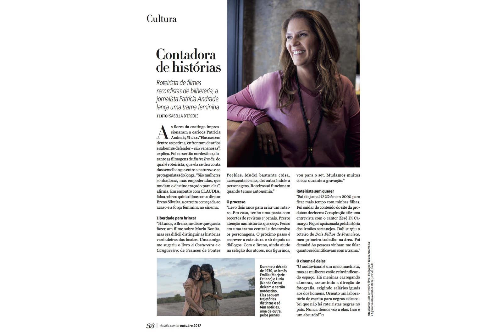 37e571a51 Revista CLAUDIA (oct 16 - actual) - Beatriz Chimelli