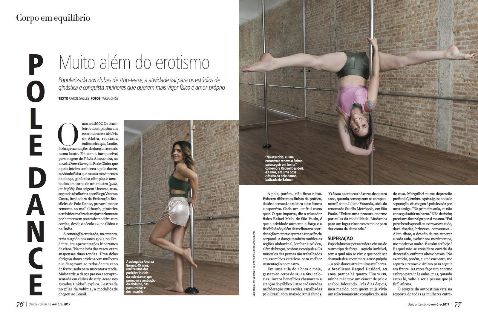 Revista CLAUDIA (oct 16 - actual) - Beatriz Chimelli