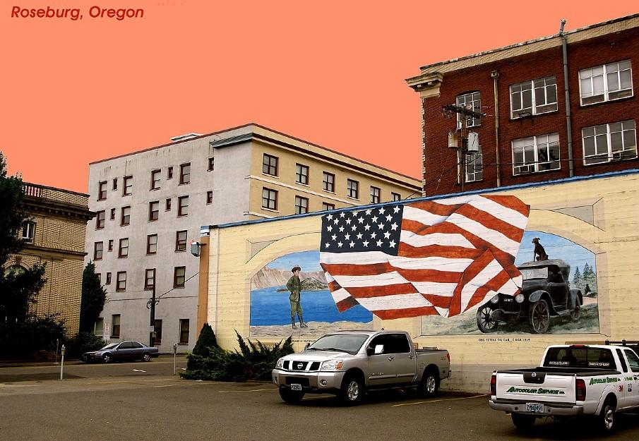 risalente Roseburg Oregon