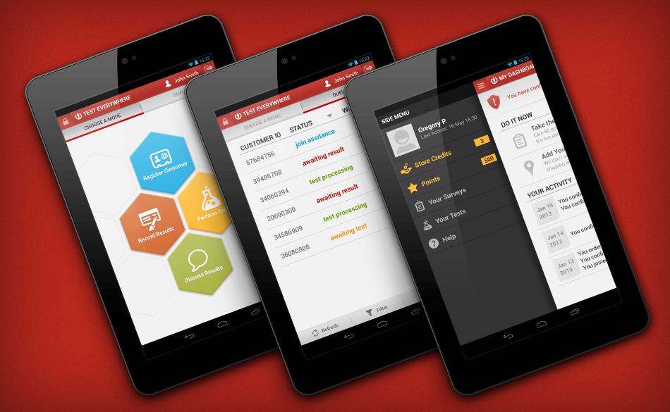 Test Everywhere (Android) - Artem Tolstykh - UI/UX Mobile Designer