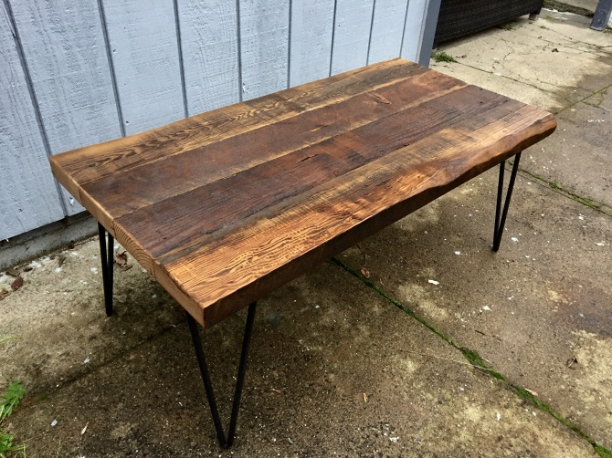 Reclaimed Douglas Fir Coffee Table Ambrose Woodworks
