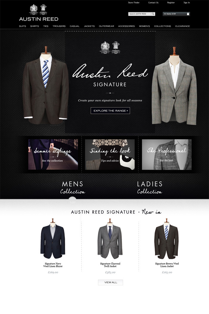 Austin Reed Collections Dilesh