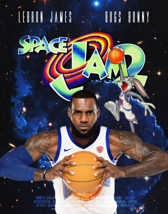 Space Jam 2: Theatrical Poster - LP3 - Personal network
