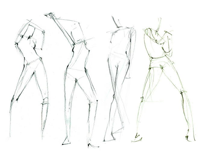 Figure Drawings Dylans Work
