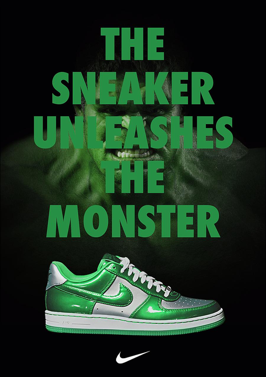 Nike X Marvel Print Ad - Lbert
