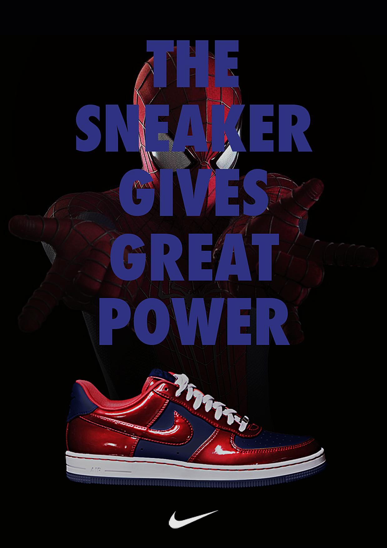 Nike X Marvel Print Ad Lbert