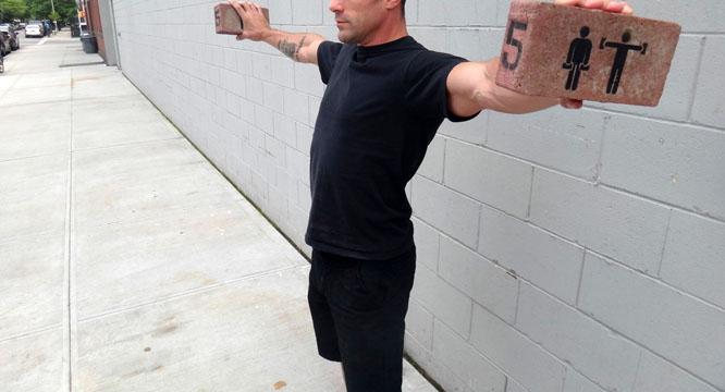 Workout Bricks Rotten Apple