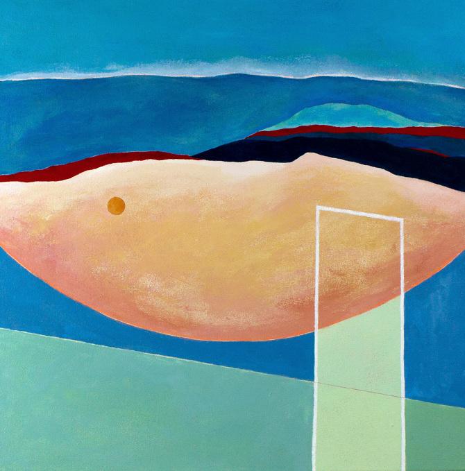 Paintings on Canvas // 2017 - Anda Tanaka